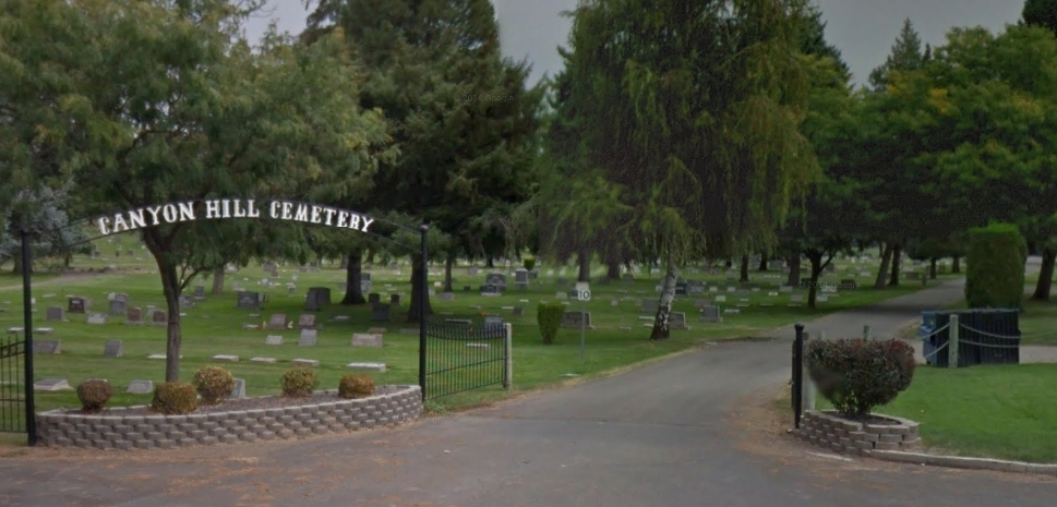 Canyon Hill cemetery