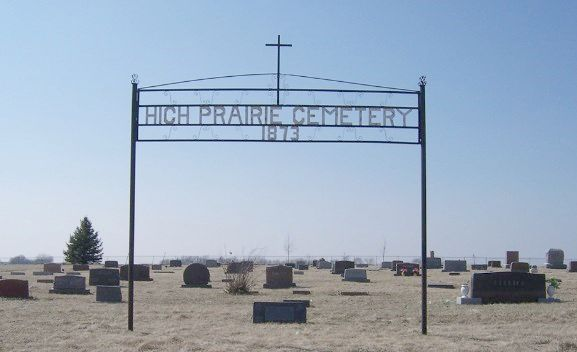 High Prairie cemetery